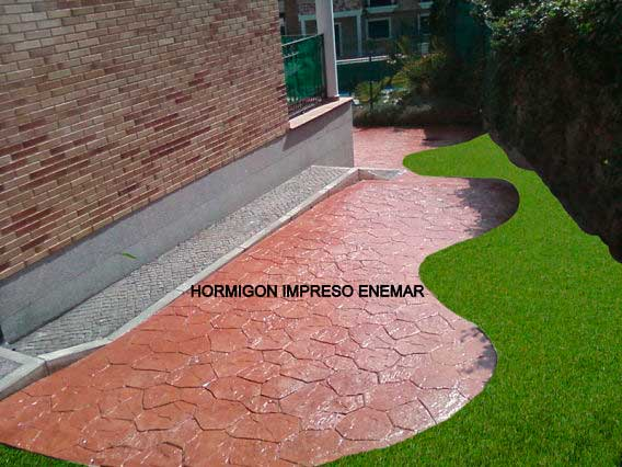 Moldes para hormigon impreso finest beautiful como hacer for Hormigon impreso chile